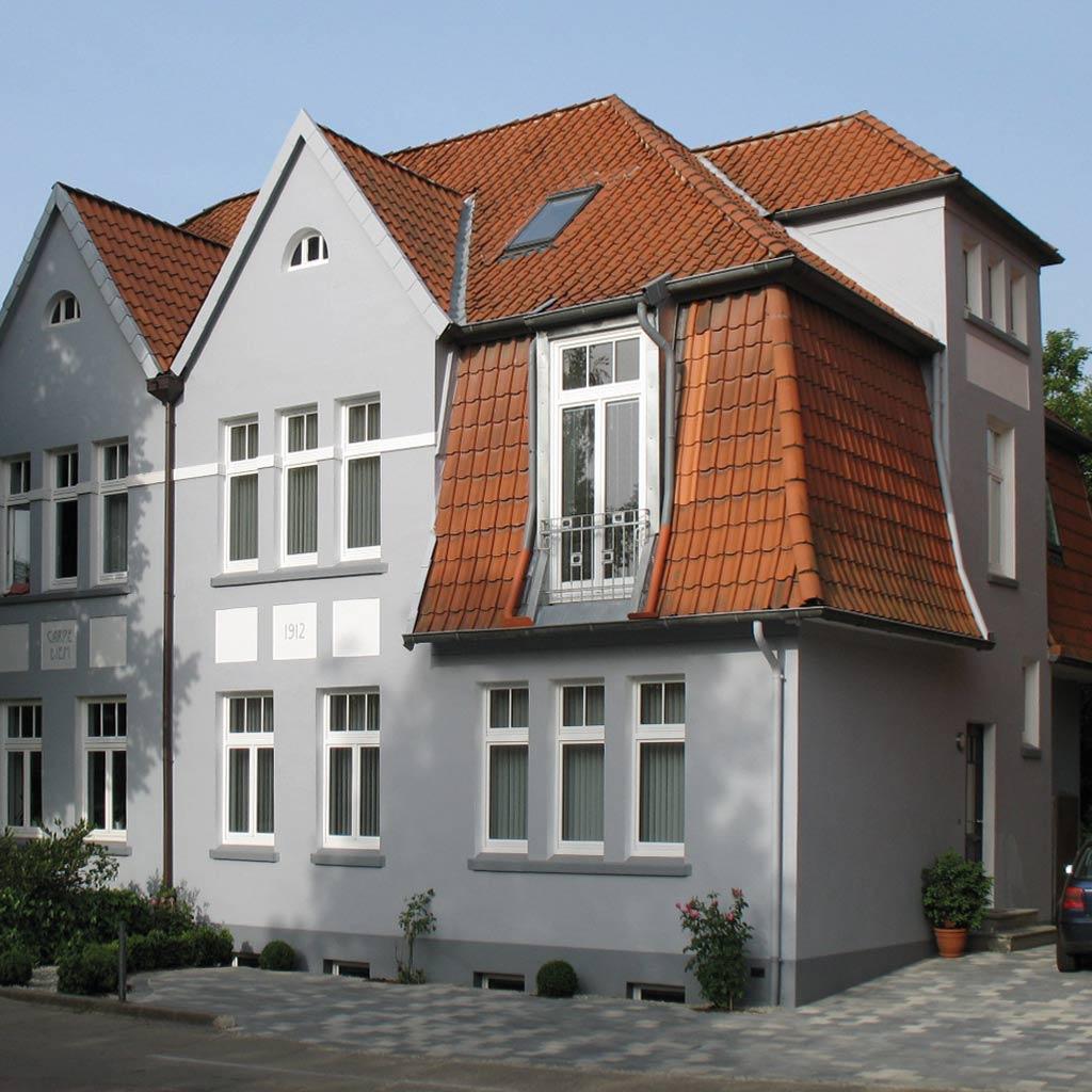 Sanierung Doppelhaushälfte Bauen im Bestand