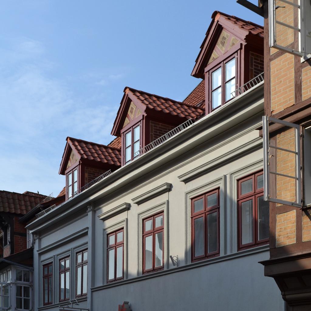 Umbau denkmalgeschütztes Wohn- und Geschäftshaus Denkmalpflege